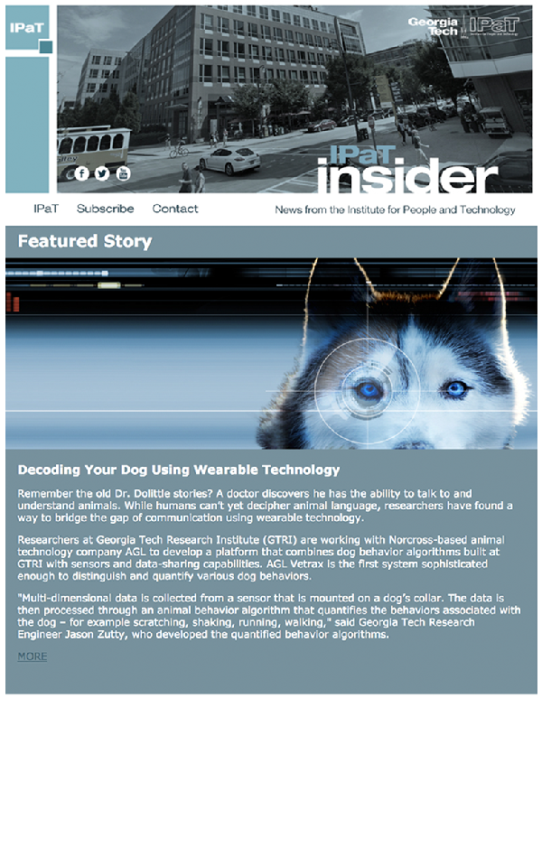 May 2016 IPaT Insider cover