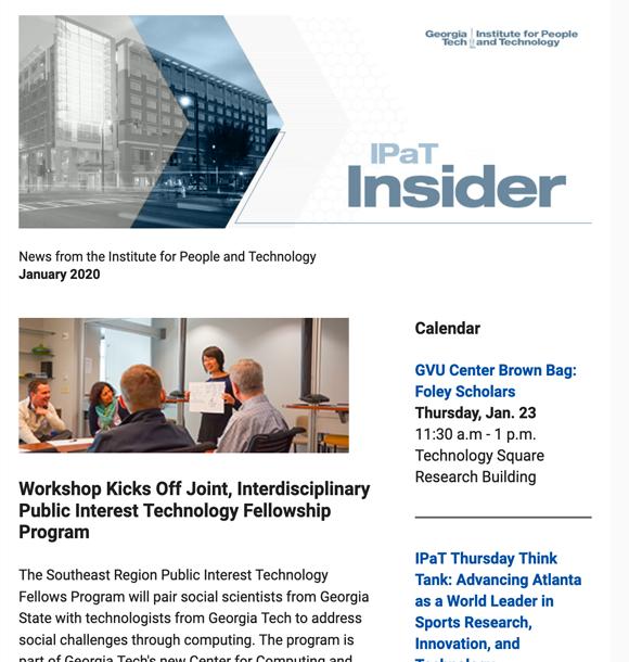IPaT Insider January 2020