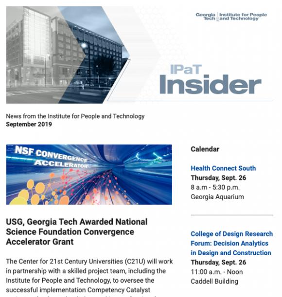 IPaT Insider September 2019